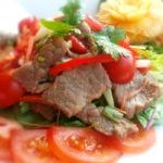 Thai Salat mit Rindfleisch