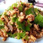 Thai-Poulet Salat