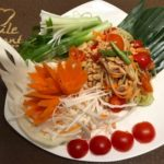 Vorspeise Papaya Salat